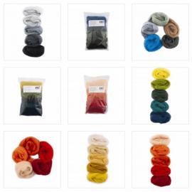 European Merino Wool Color Sets