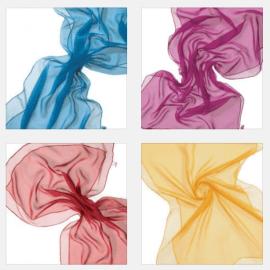 Zijde Sjaals 230x55 cm