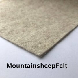 Mountain Sheep Felt