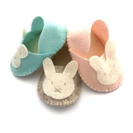 Safe and Sustainable Baby Slippers