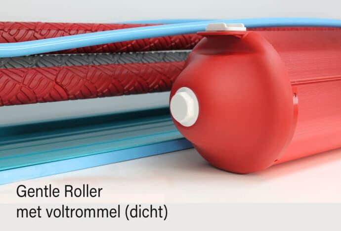 Gentle Roller Fulling drum / Gentle Roller voltrommel dicht