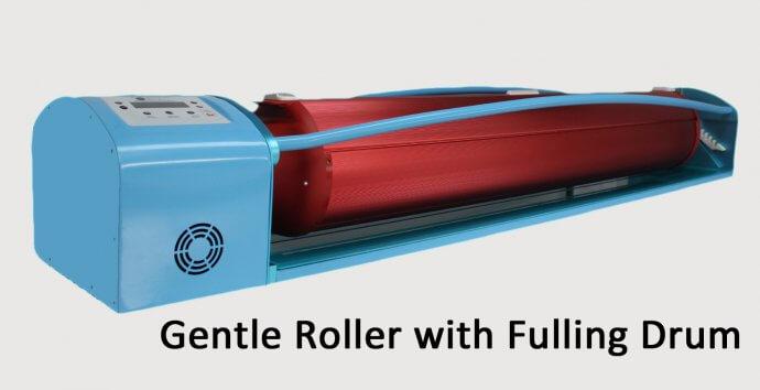 Gentle Roller with Fulling drum