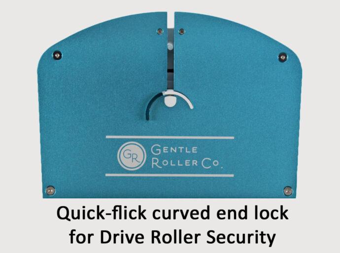 Gentle Roller quick flick lock