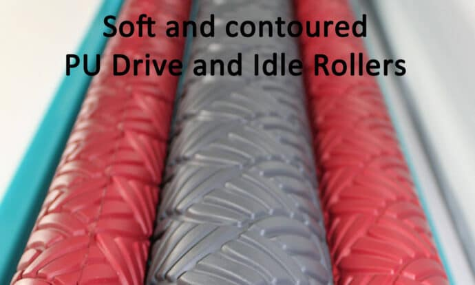 Gentle Roller Driver and Idle Rollers