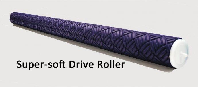 Super soft driver roller