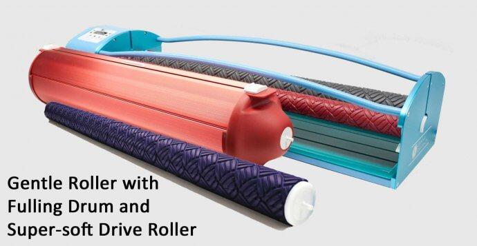 Gentle Roller with Fulling drum / Gentle Roller met voltrommel