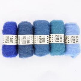 BhedaWool Blue Tones - Bhedawol blauwtinten