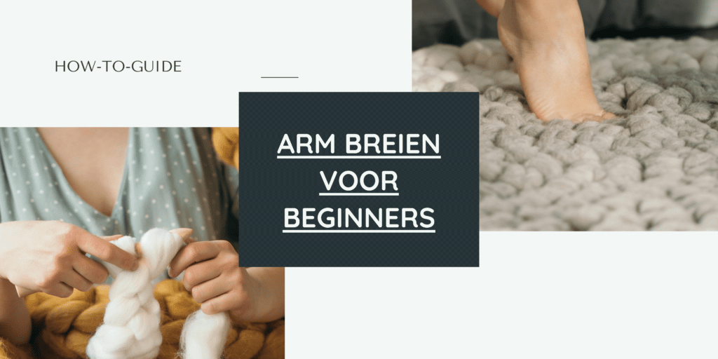 breien met lontwol voor beginners